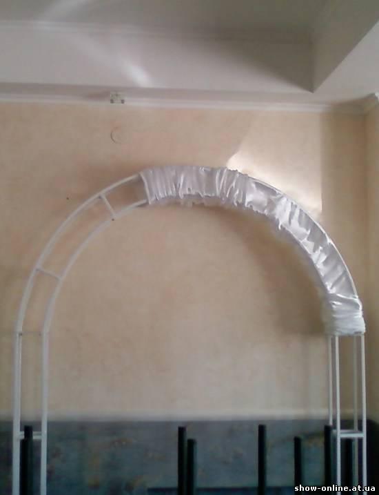 Как сделать квадратную арку своими руками на свадьбу